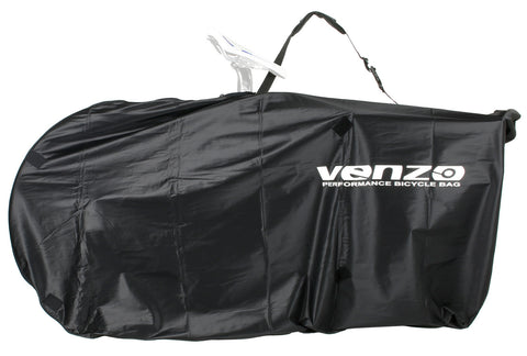 "VENZO 210D Nylon Bike Bicycle Travel Carry Bag For 26"" MTB 700C Road Bike"