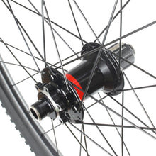"Carbon Mountain Bike Boost Tubeless Wheelset 29"" Front 15mm Rear 12mm WH-MC1-BS"