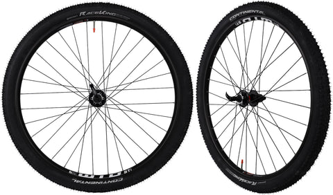 CyclingDeal WTB ST i25 Tubeless Ready Mountain Bike Bicycle Novatec Sealed Hubs With Tires Wheelset - Compatible With Shimano Sram 8 to11 Speed  - Quick Release Front and Rear - 29""