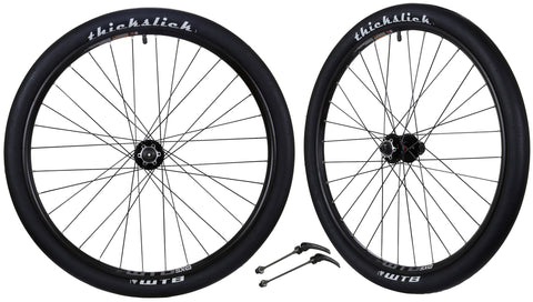 "WTB SX19 Mountain Bike Bicycle Novatec Hubs & Tires Wheelset 11s 26"" QR"