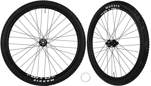 "WTB ST i25 MTB Tubless Ready Compatible System Boost Wheelset 29"" Maxxis Crossmark II Tires Novatec Hubs - Front 15x110mm - Rear 12x148mm- Compatible with Shimano Sram 9,10,11 Speed"