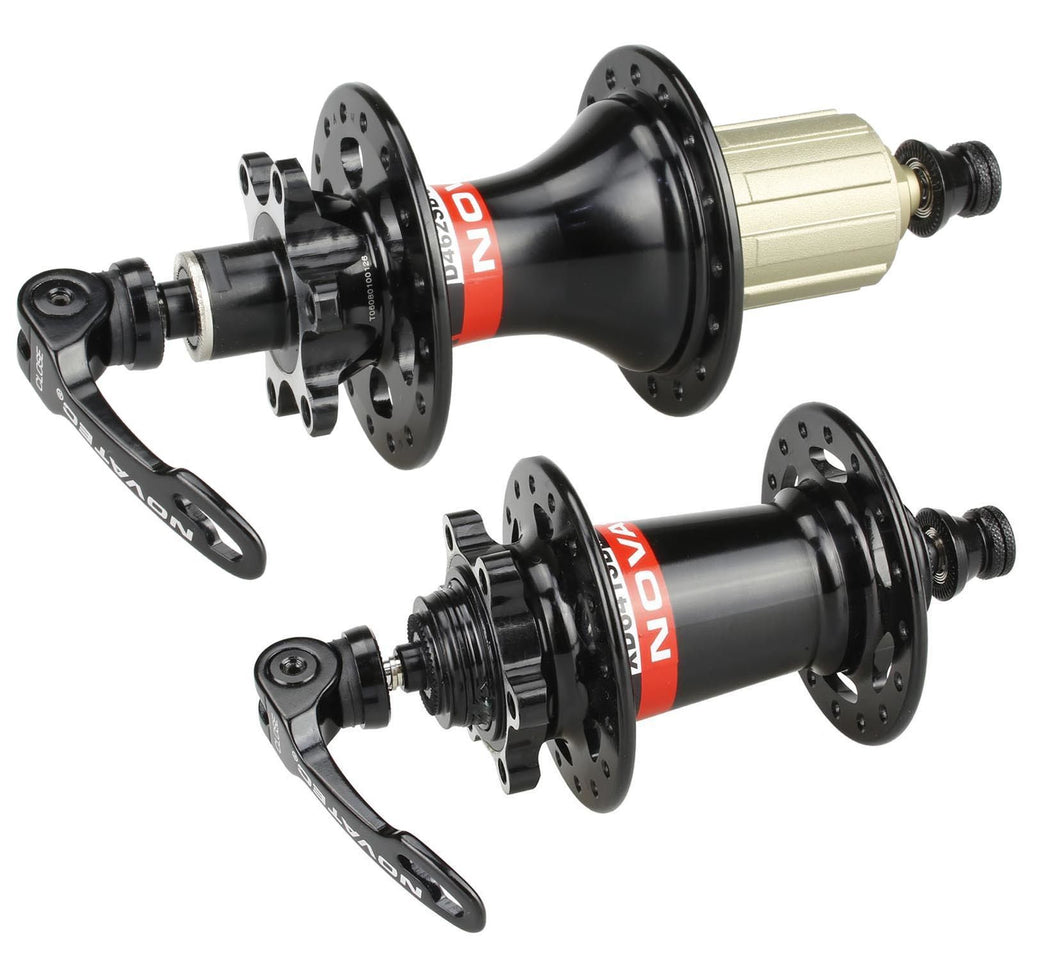 NOVATEC Mountain Bike Hubs Complete Kit For Shimano 8-11 Speed 32 Holes