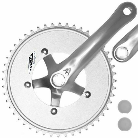 Sugino Track Fixie Road Bike Crankset Pista 48T 165mm