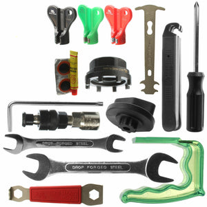 BIKEHAND Complete 37 Piece Bike Bicycle Repair Tools Tool Kit YC-748