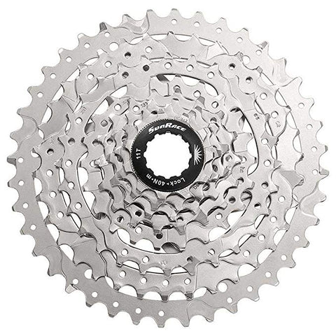 Sunrace M680 Shimano 8 Speed Bicycle Cassette Freewheel 11-40T Silver CSM680SIL-1140