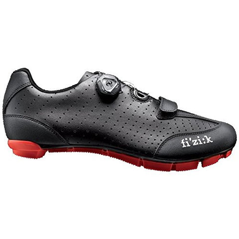 Fizik M3B Uomo BOA Shoe Black/Red Size 43