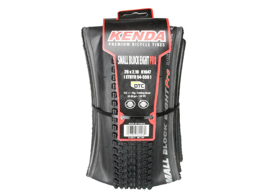 KENDA Small Block Eight Pro Mountain Bike XC Folding Tyres 26x2.1