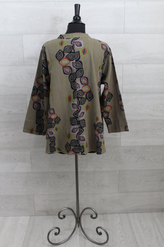 Made In Italy - Linen Tunic Dress - Shopboutiquekarma
