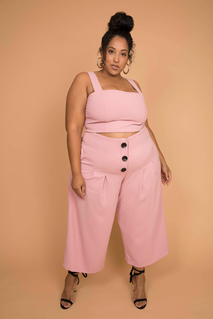 Dani Pant-Blush Pink *SEEN ON THE TODAY SHOW!*