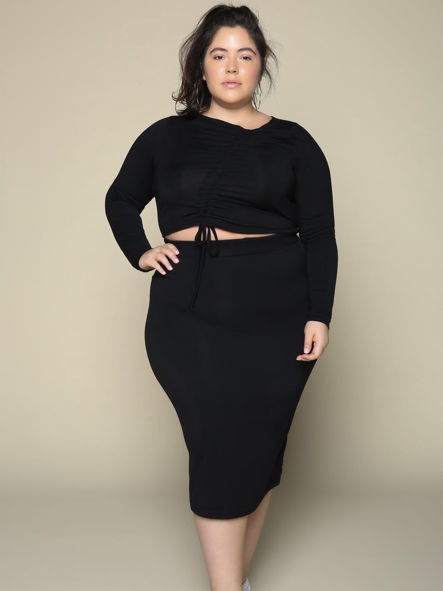 The Ruched LBD