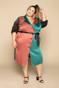 Sol Colorblock Trench