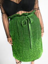 Paperbag Pleat Skirt