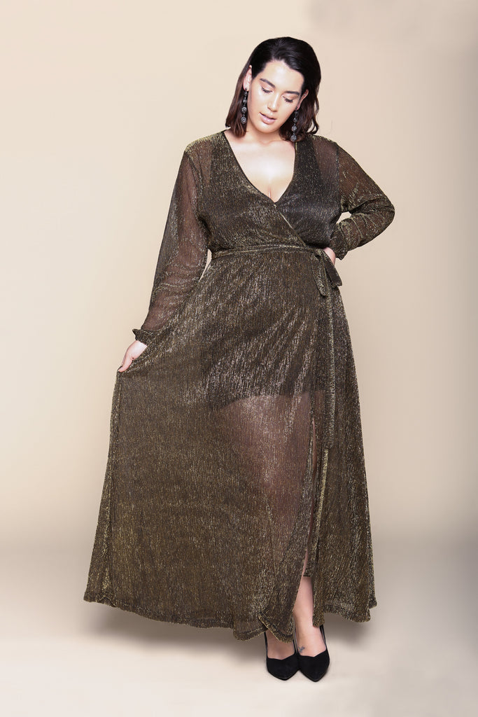 Cleo Metallic Dress - FINAL SALE