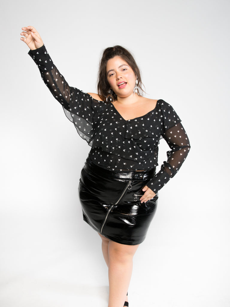 Plus Size Leather Skirts And Pants – DACC