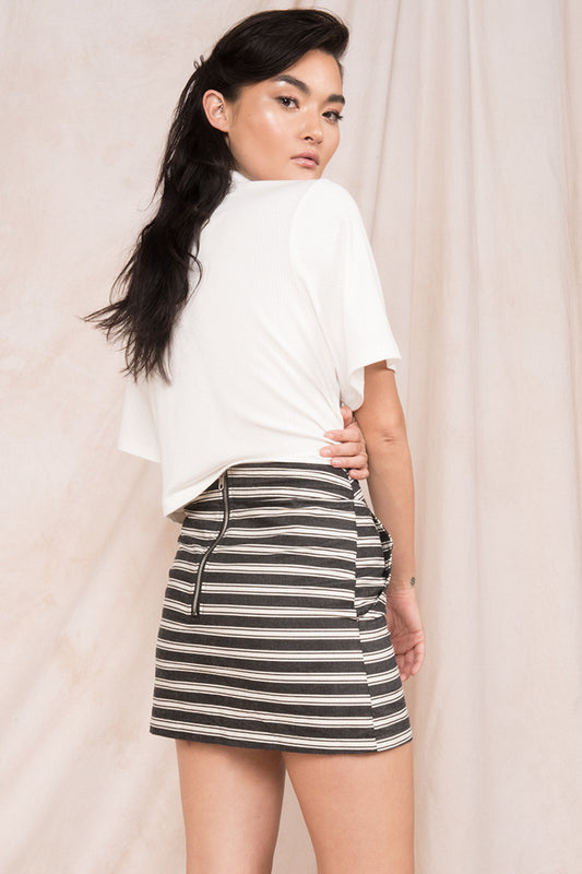 Stripe Skirt