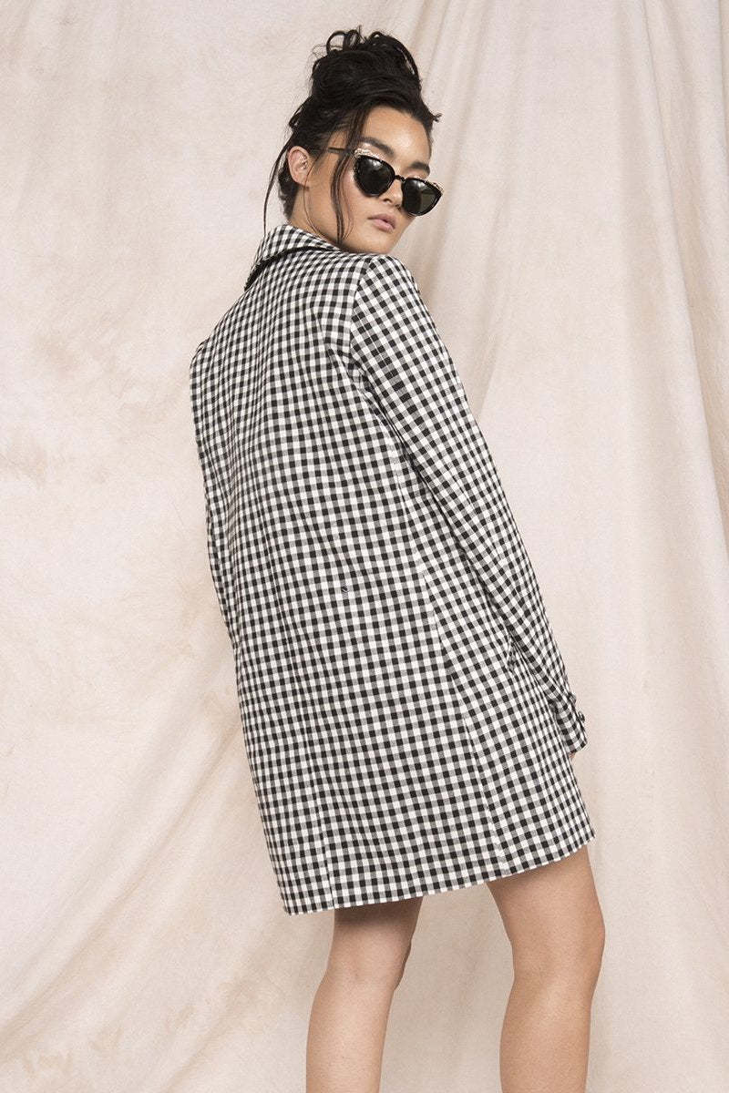 Gingham Thing Blazer