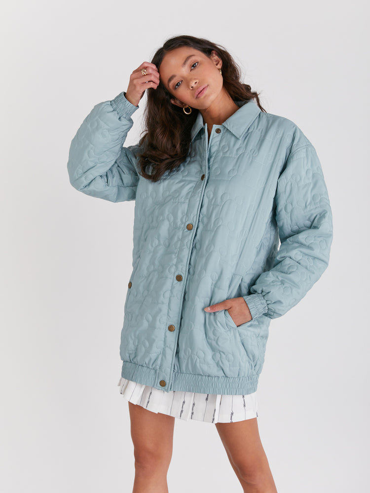 Outline Icon Puffer Jacket