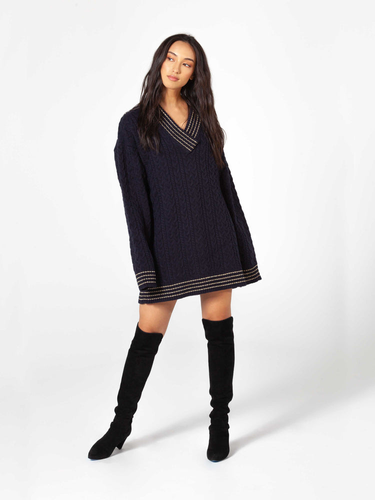 Teacher's Pet Sweater Dress