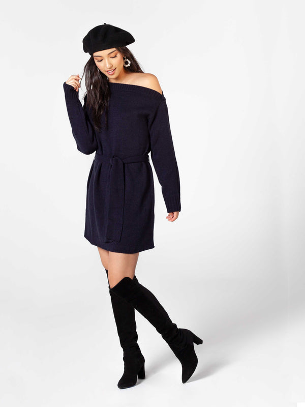 Ocean Eyes Sweater Dress