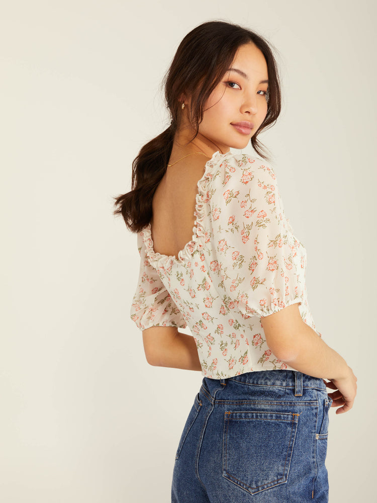 Valley Girl Blouse