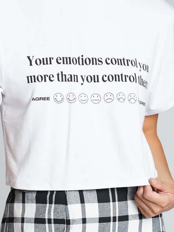 Emotions Crop T