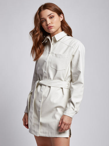Cloudburst Shirt Dress