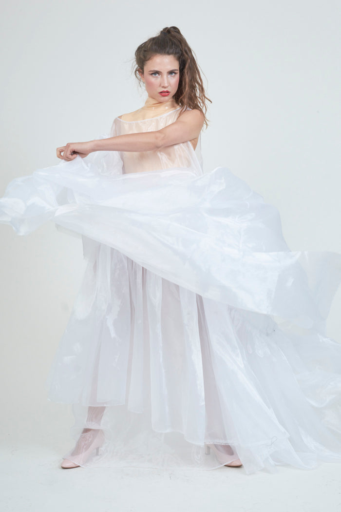 The Chosen One White Organza Dress
