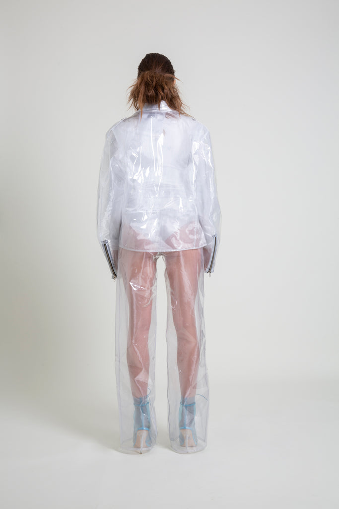 The Organza/Transparent Plastic Pant