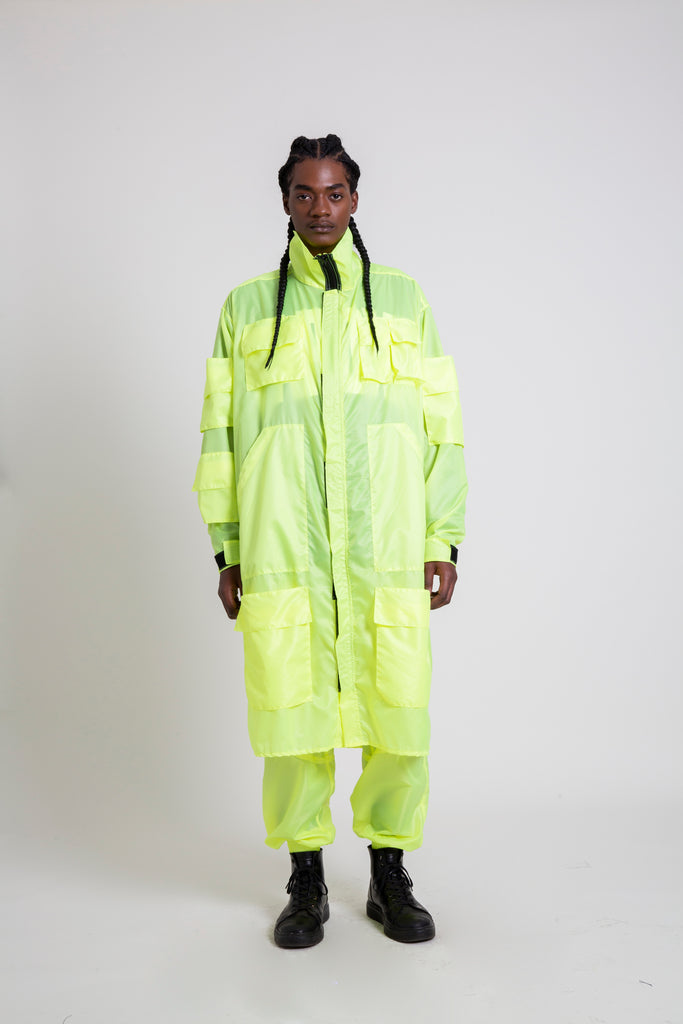 The Highlighter Yellow M-65 Trench