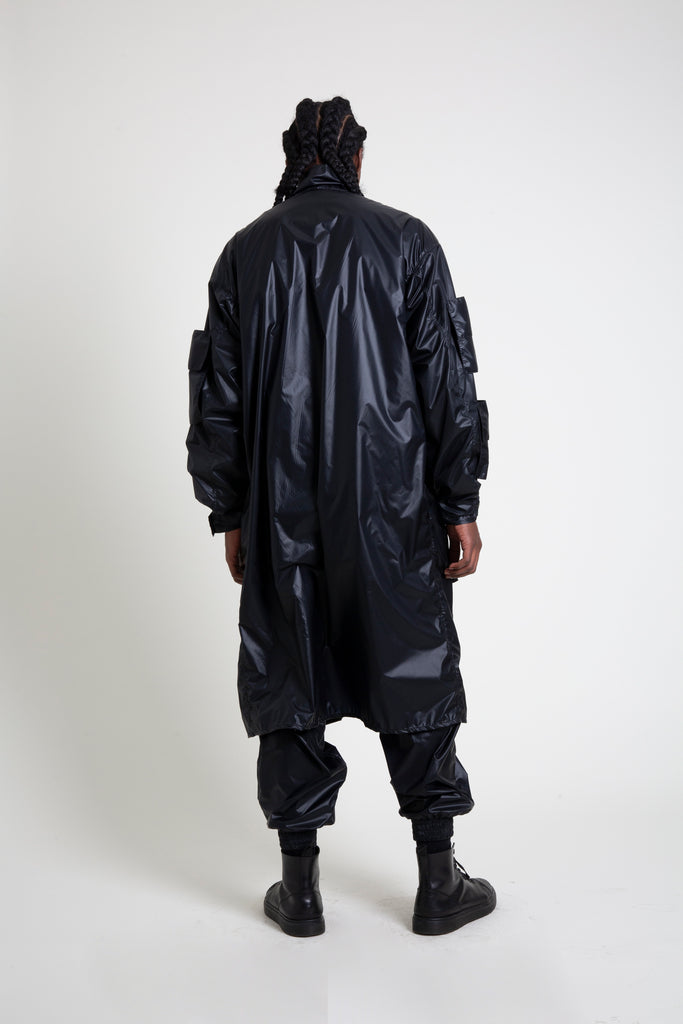 The Black Nylon M-65 Trench