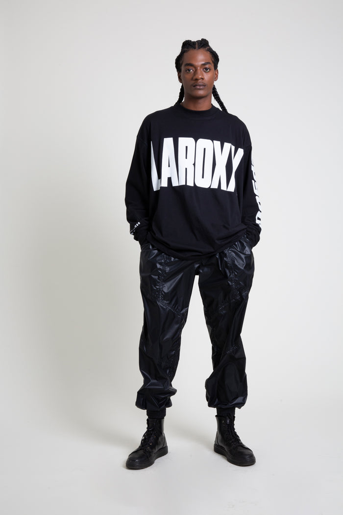 The LA Roxx Black Logo Long Sleeve