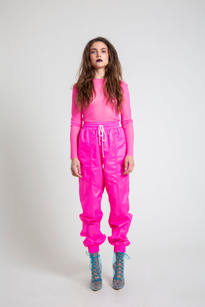 e10c4a5946f3 The Hot Pink Nylon Jogger. The Hot Pink Nylon Jogger. $295.00 · The Hot  Pink PVC Mini Dress