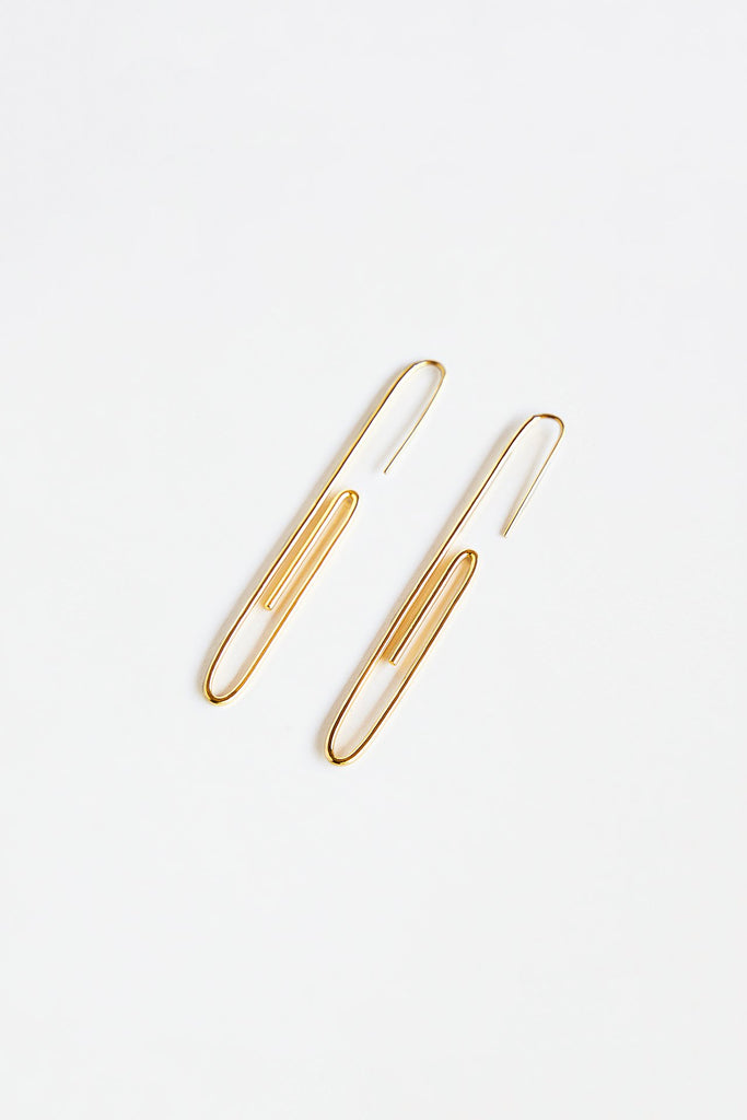 OF ARC Paper Clip Earring
