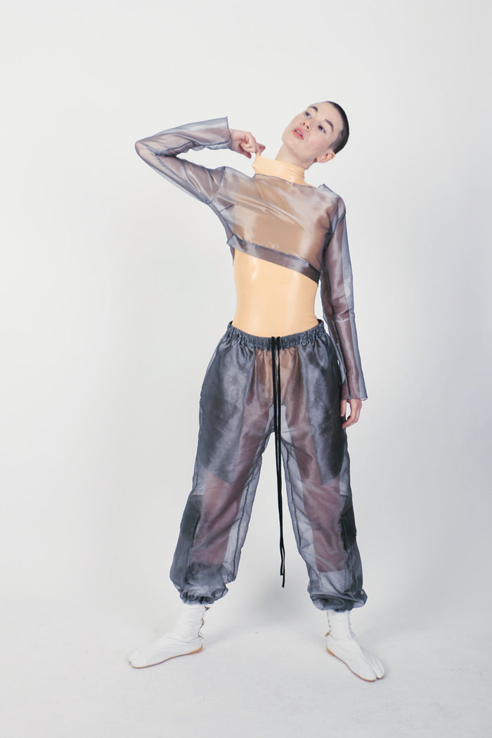The Grey Organza M-65 Pant
