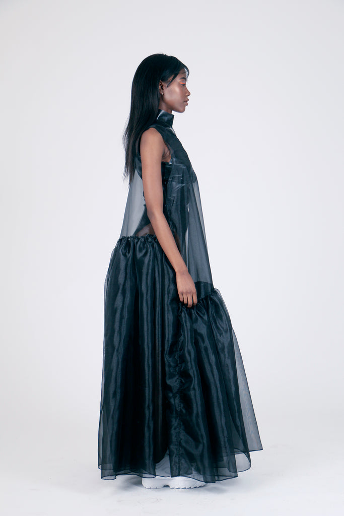 The Chosen One Black Organza Dress