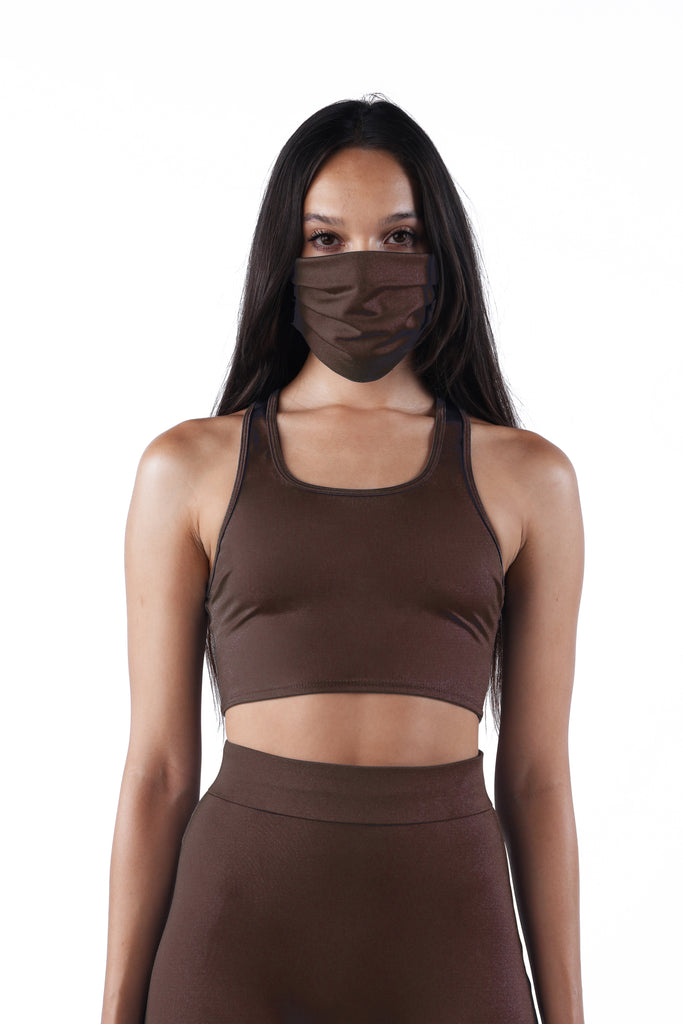 The Racerback Crop Top - Nude 03