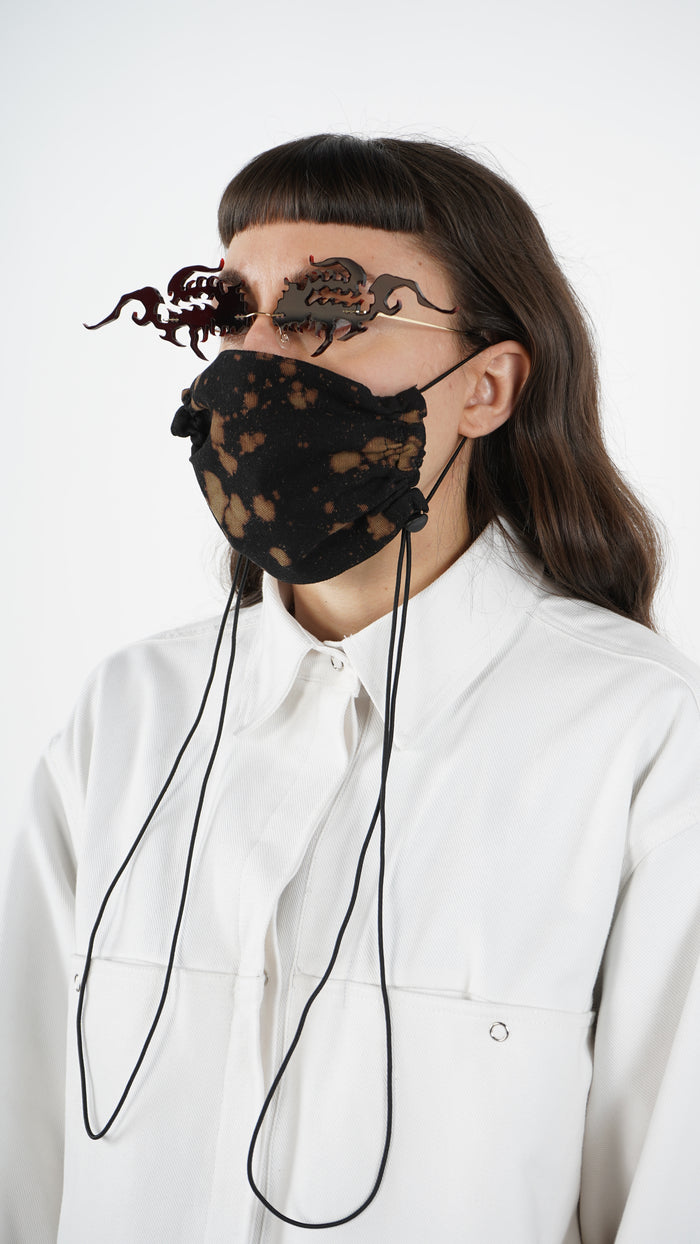 The Bleached Adjustable Bungee Cord Mask 2