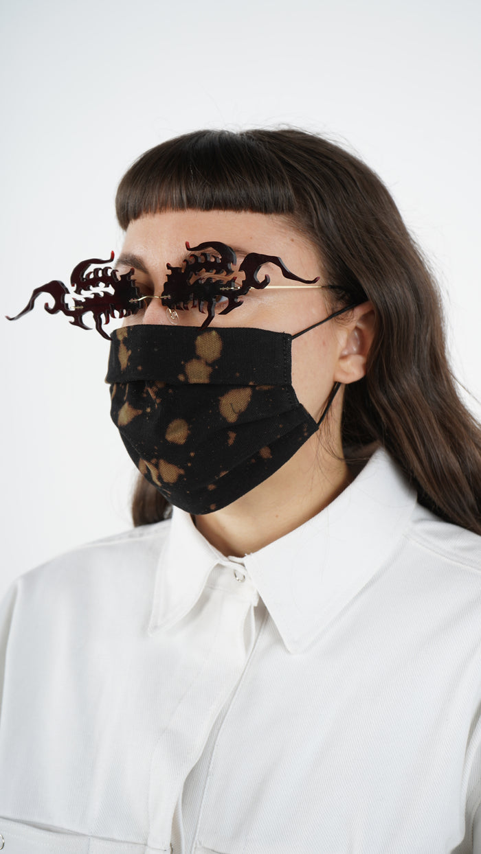 The Bleached Tri-Fold Mask 2