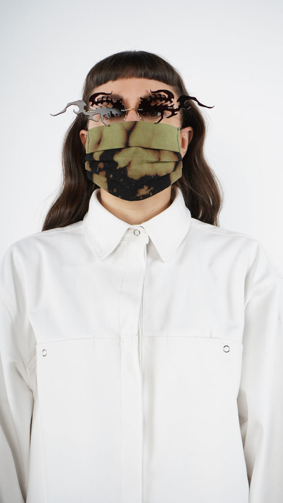 The Bleached Tri-Fold Mask 1