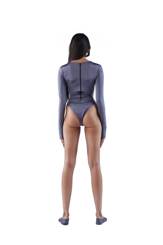 The Traditional Bodysuit - Grey
