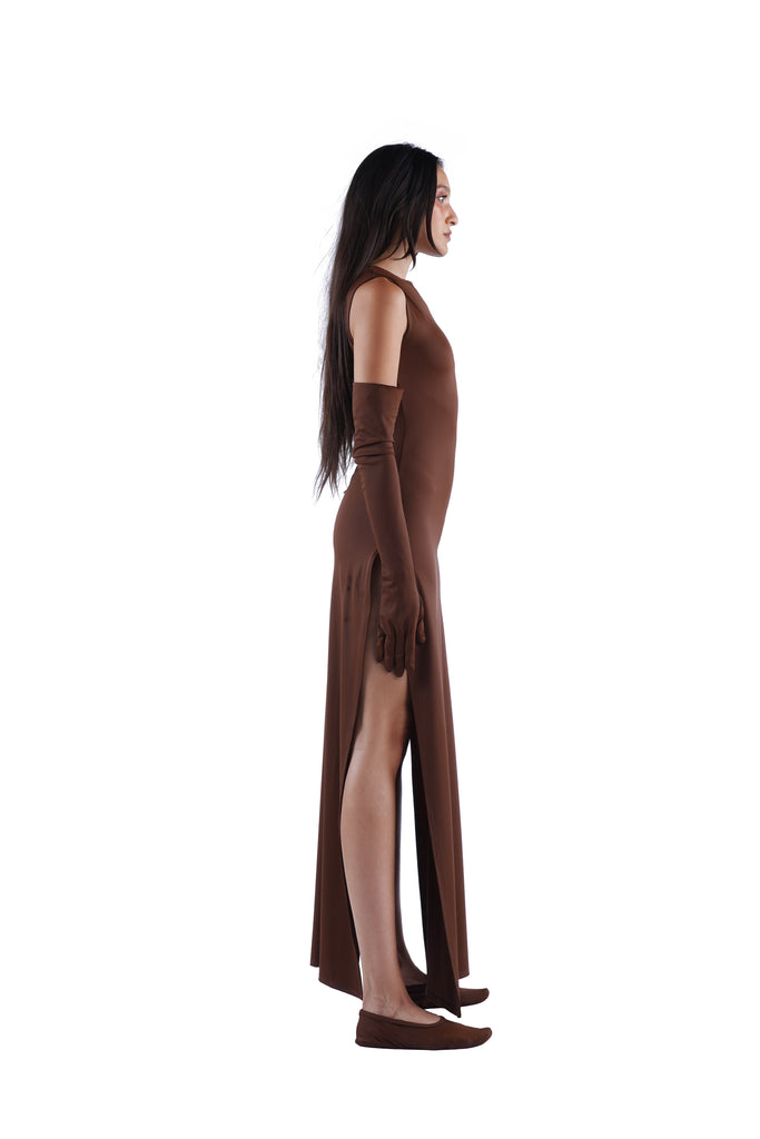 The Maxi Dress - Nude 03