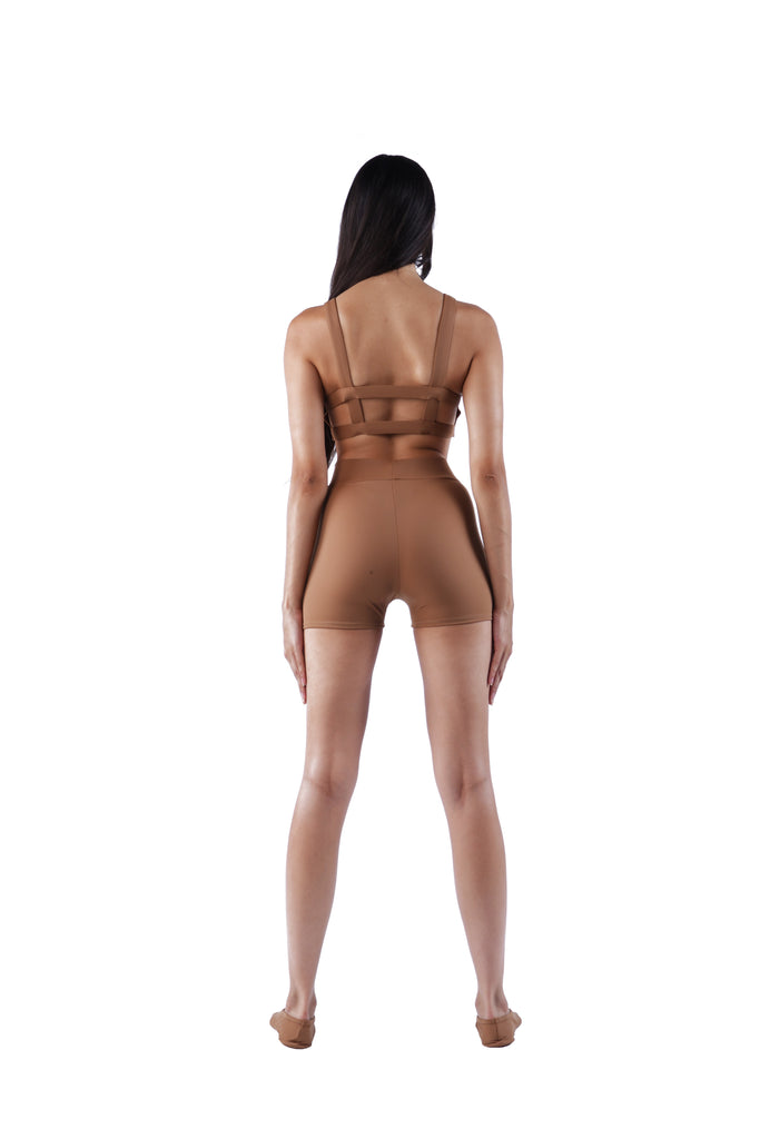 The Back Cutout Bra - Nude 02