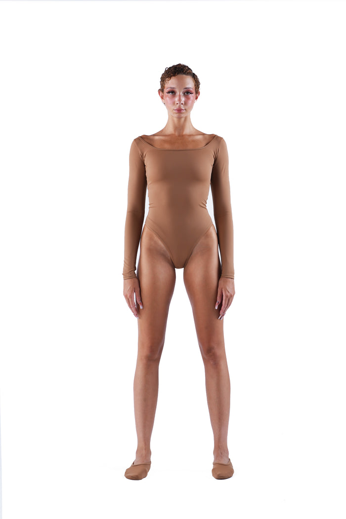 The Traditional Bodysuit - Nude 02