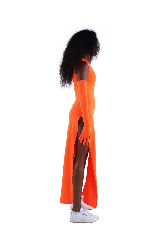 The Maxi Dress - Orange