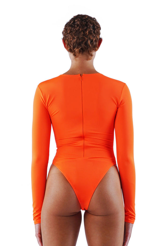 The Traditional Bodysuit - Orange