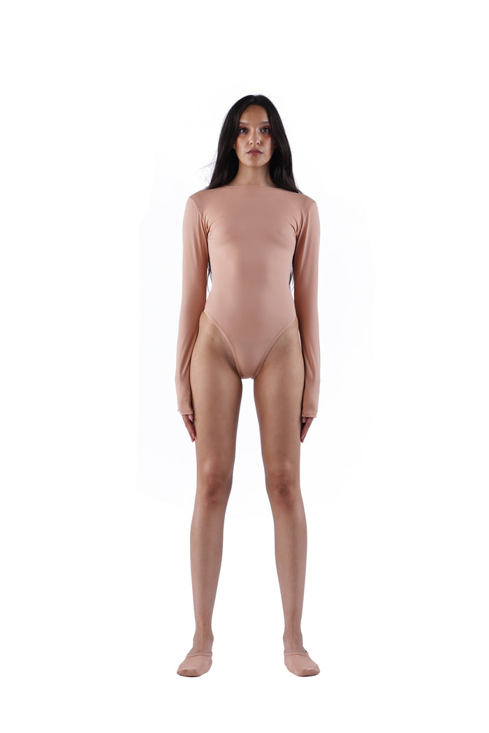 The Traditional Bodysuit - Nude 01