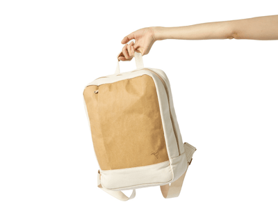 The Essential - Humming Kraft, Washable Kraft Backpack, Bag