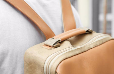 The Minimalist - Humming Kraft, Washable Kraft Backpack, Bag