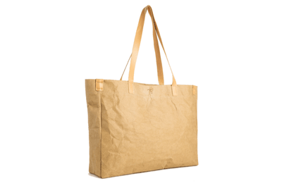 The Tote - Humming Kraft, Washable Kraft Backpack, Bag