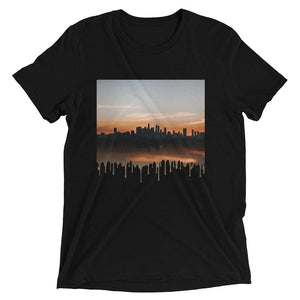 Cityscape Drips Short sleeve t-shirt